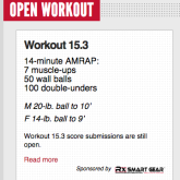 CrossFit Open 15.3 – Preliminary Analysis