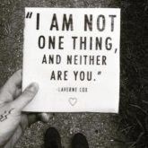 i am not one thing